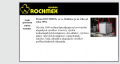 Webová stránka: ROCHMEX, s.r.o., Rožňava