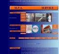 Webová stránka: MPA SERVICE s. r. o.