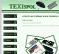 Webová stránka: Erika Petríková - TEXISPOL