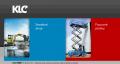 Webová stránka: KLC pracovné plošiny, s.r.o.