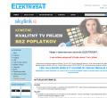 Webová stránka: ELEKTROSAT